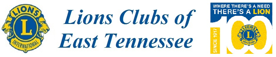 East Tennessee Lions Clubs